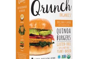 Original Flavor Quinoa Burgers