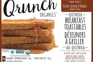 Quinoa Breakfast Toastables - Rich Maple