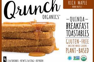 Quinoa Breakfast Toastables