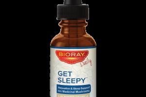 GET SLEEPY RELAXATION & SLEEP SUPPORT WITH MEDICINAL MUSHROOMS & MICRONIZED CHLORELLA DETOX REPLENISH DIETARY SUPPLEMENT