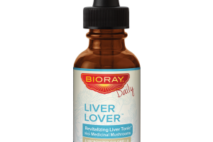 LIVER LOVER REVITALIZING TONIC WITH MEDICINAL MUSHROOMS & MICRONIZED CHLORELLA DETOX REPLENISH DIETARY SUPPLEMENT