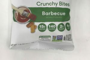 BARBECUE FLAVORED CRUNCHY BITES
