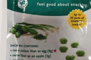 Freeze-dried Edamame Veggie Snack