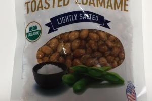 Premium Golden Toasted Edamame