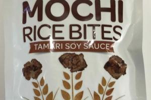 TAMARI SOY SAUCE RICE BITES MOCHI
