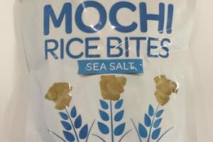 SEA SALT MOCHI RICE BITES