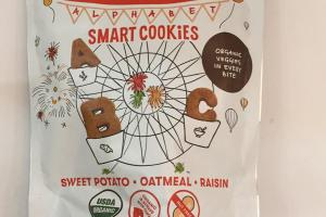 Sweet Potato, Oatmeal, Raisin Smart Cookies