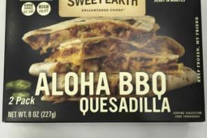 ALOHA BBQ QUESADILLA