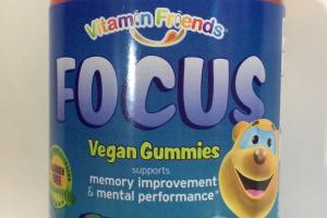 Vegan Gummies Dietary Supplement