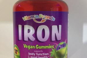 Iron Vegan Gummies Dietary Supplement
