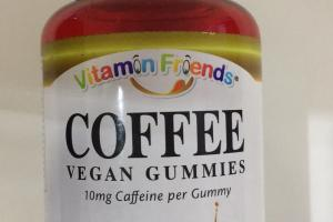 Coffee Vegan Gummies Dietary Supplement