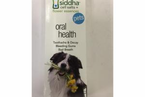 CELL SALTS + FLOWER ESSENCES PETS ORAL HEALTH HOMEOPATHIC REMEDY