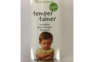 CELL SALTS + KIDS 2+ TEMPER TAMER HOMEOPATHIC REMEDY