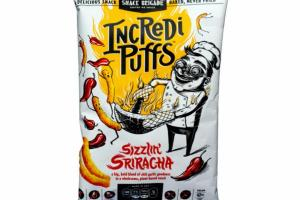 SIZZLIN' SRIRACHA A BIG, BOLD BLEND OF CHILI GARLIC GOODNESS IN A WHOLESOME, PLANT-BASED SNACK