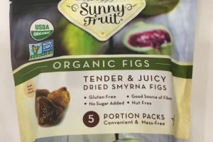 Organic Tender & Juicy Dried Smyrna Figs