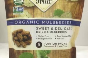ORGANIC MULBERRIES SWEET & DELICATE DRIED