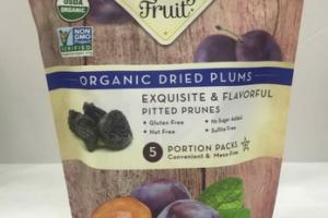 ORGANIC DRIED PLUMS