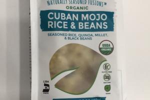 Organic Cuban Mojo Rice & Beans