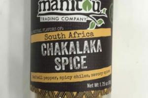 RED BELL PEPPER, SPICY CHILES, SAVORY SPICES SOUTH AFRICA CHAKALAKA SPICE