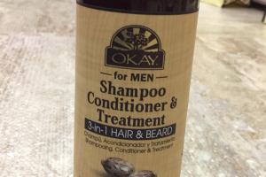 Shampoo Conditioner & Treatment For Men , Castor Oil