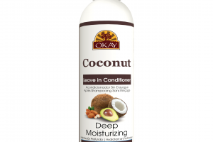 DEEP MOISTURIZING LEAVE IN CONDITIONER WITH ALMOND, ARGAN & AVOCADO OIL, COCONUT