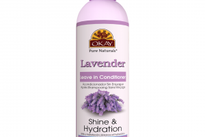 SHINE & HYDRATION LEAVE IN CONDITIONER, LAVENDER