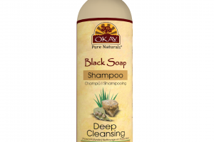DEEP CLEANSING SHAMPOO, BLACK SOAP