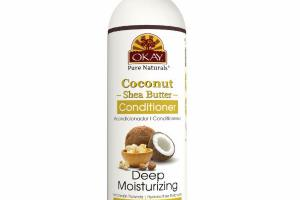 DEEP MOISTURIZING COCONUT SHEA BUTTER CONDITIONER WITH OLIVE, ARGAN & AVOCADO OIL