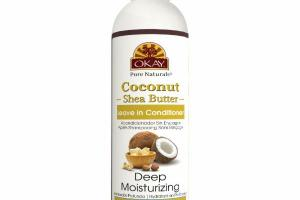 DEEP MOISTURIZING LEAVE IN CONDITIONER WITH OLIVE, ARGAN & AVOCADO OIL, COCONUT SHEA BUTTER