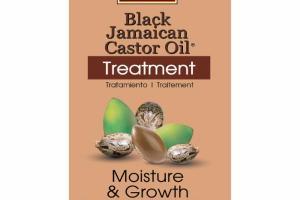 MOISTURE & GROWTH TREATMENT BLACK JAMAICAN CASTOR OIL & ARGAN OIL