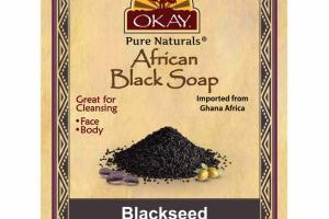 AFRICAN BLACK SOAP, BLACKSEED
