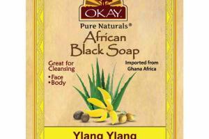 AFRICAN BLACK SOAP, YLANG YLANG