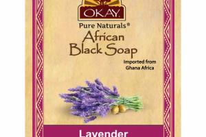 AFRICAN BLACK SOAP, LAVENDER