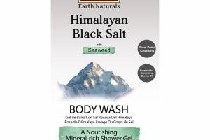 BODY WASH, HIMALAYAN BLACK SALT WITH SEAWEED