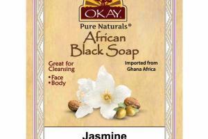 AFRICAN BLACK SOAP, JASMINE