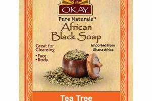 AFRICAN BLACK SOAP, TEA TREE