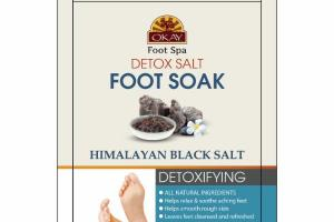 FOOT SOAK DETOX HIMALAYAN BLACK SALT