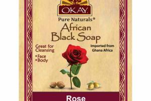 AFRICAN BLACK SOAP, ROSE