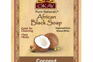 AFRICAN BLACK SOAP, COCONUT