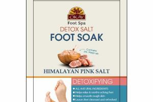 HIMALAYAN PINK SALT DETOXIFYING FOOT SOAK