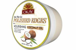 ON THE GO POLISHED EDGES WITH NOURISHING, COCONUT OIL