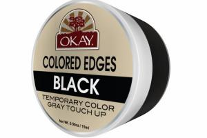 TEMPORARY COLOR GRAY TOUCH UP COLORED EDGES, BLACK