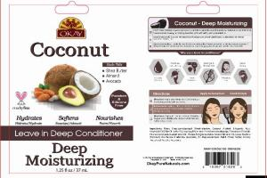 COCONUT DEEP MOISTURIZING LEAVE IN CONDITIONER