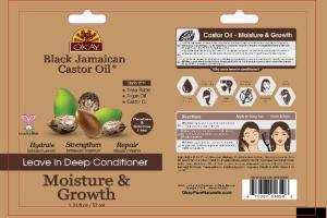 BLACK JAMAICAN CASTOR OIL LEAVE IN DEEP CONDITIONER