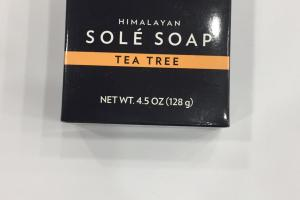 Himalayan Sole Soap, Tea Tree