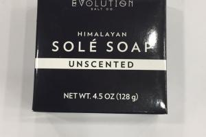 Himalayan Sole Soap, Unscented