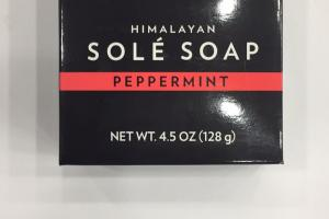 Himalayan Sole Soap, Peppermint