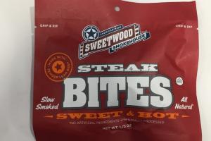 Sweet & Hot Steak Bites