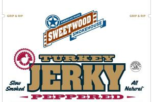 ALL NATURAL PEPPERED TURKEY JERKY