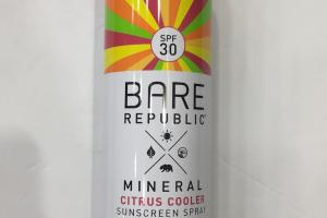 Mineral Citrus Cooler Sunscreen Spray
